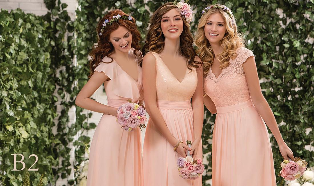 جدیدترین مدل های لباس ساقدوش عروس 2018