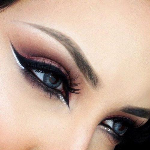 چگونه بدون آرایش چشمانی درشت داشته باشیم