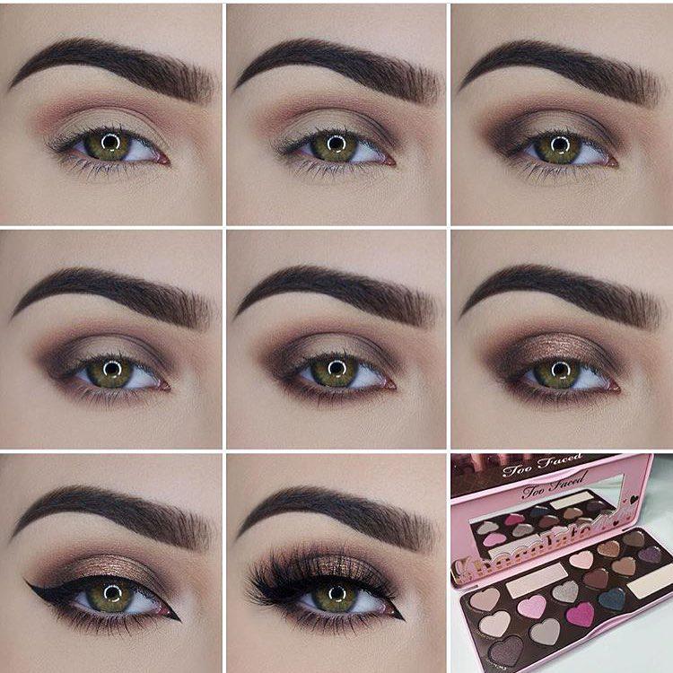 آرایش چشم درشت با تصویر و مرحله به مرحله