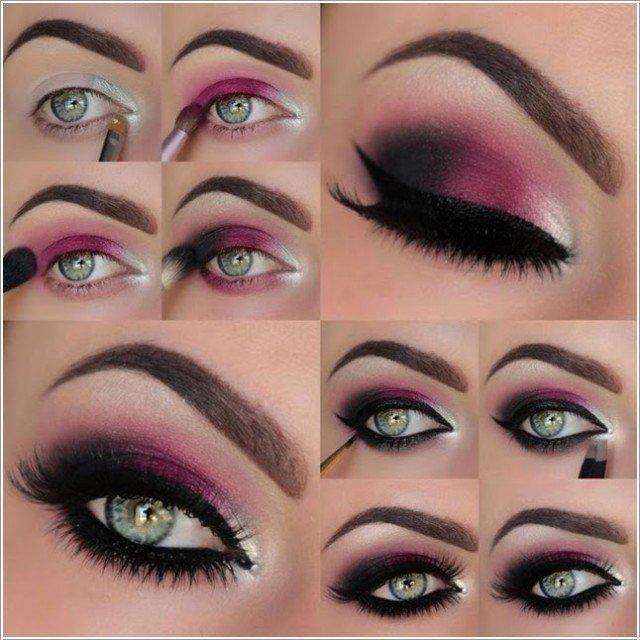 purple smokey eye makeup 3