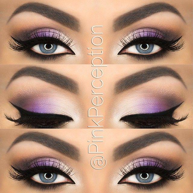 purple smokey eye makeup 4