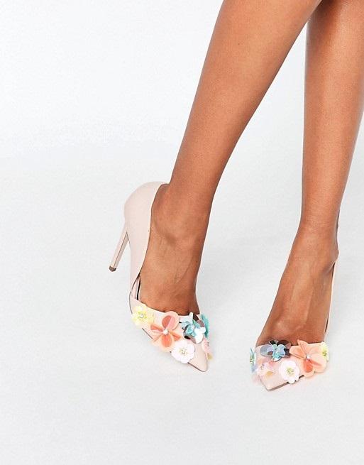 مدل کفش مجلسی بسیار شیک زنانه با پاشنه بلند