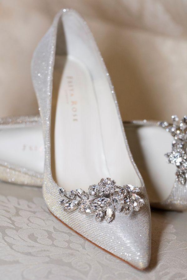 انواع مدل کفش مجلسی نگین دار و با پاشنه بلند