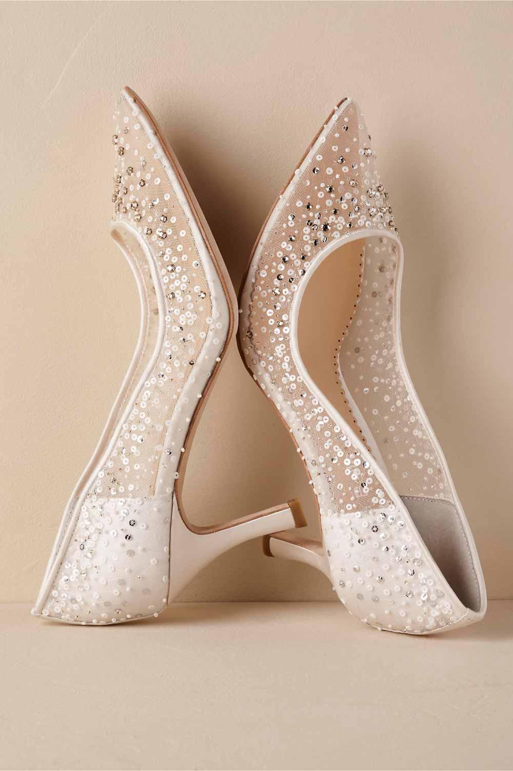 انواع مدل از جدیدترین کفش مجلسی پاشنه بلند 97