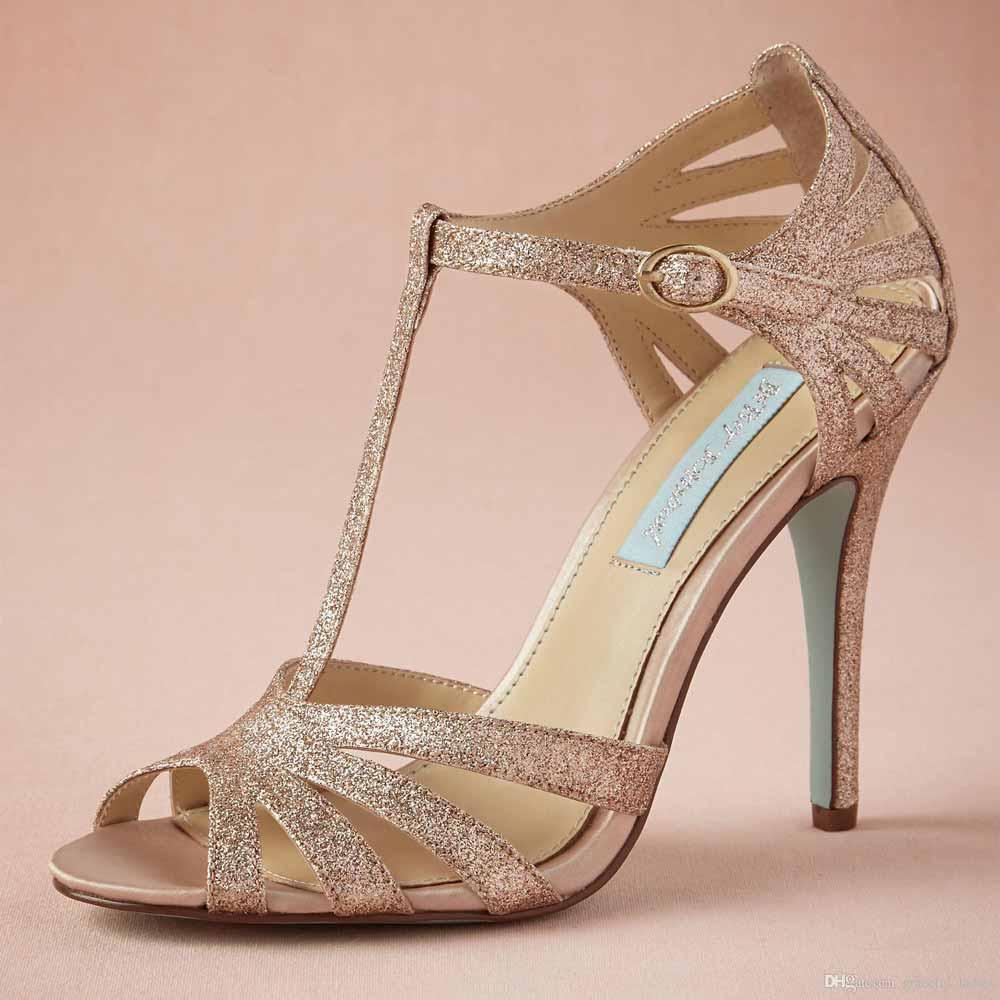 مدل کفش مجلسی زنانه طلایی 2018