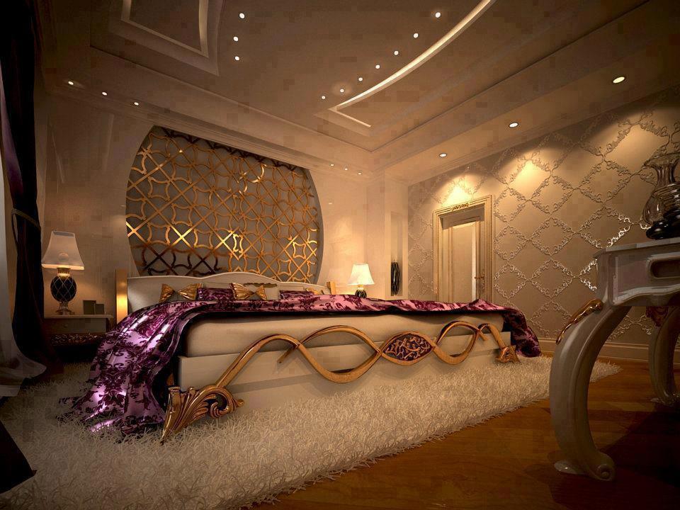تصاویر تزیین اتاق خواب عروس شیک و بسیار زیبا 2018