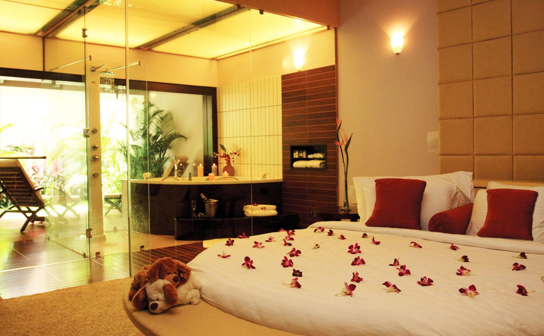 عکس تزیین اتاق خواب عروس با وسایل ساده