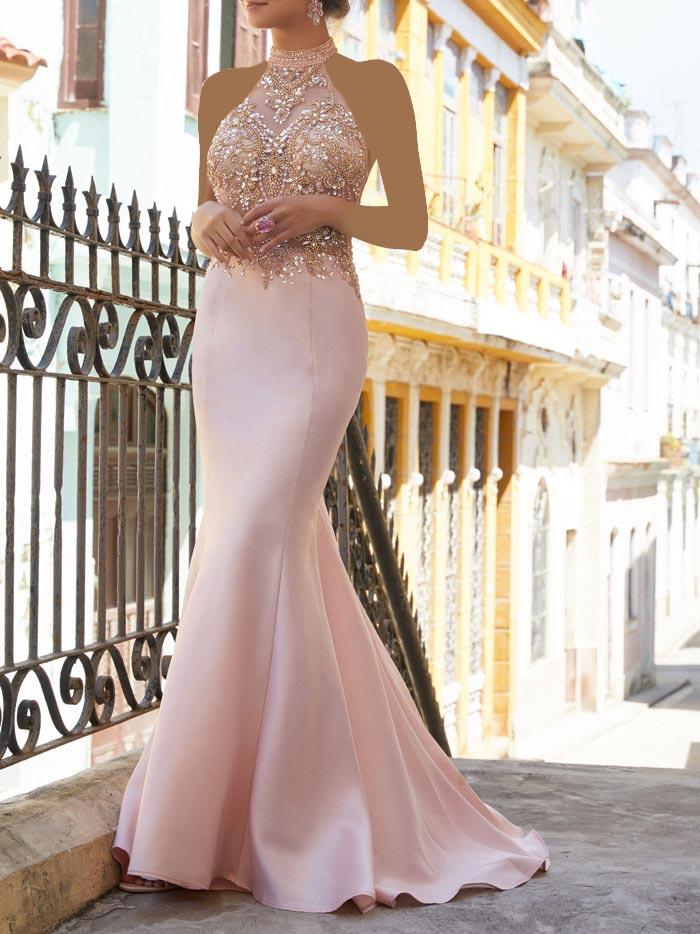 مدل لباس بلند راسته مجلسی