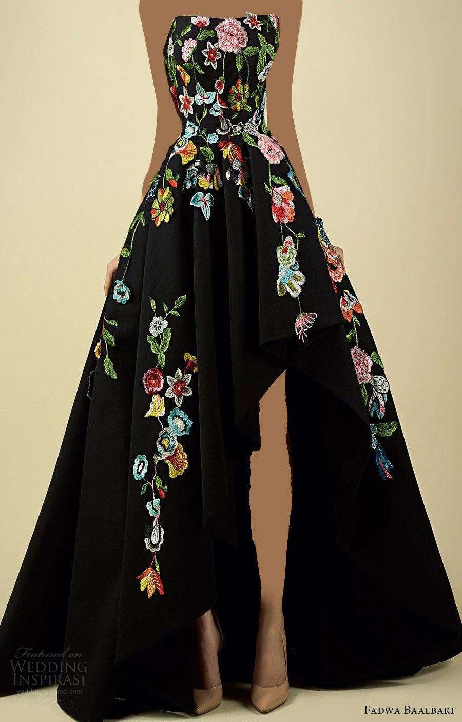 انواع مدل لباس مجلسی دخترانه بلند گل گلی