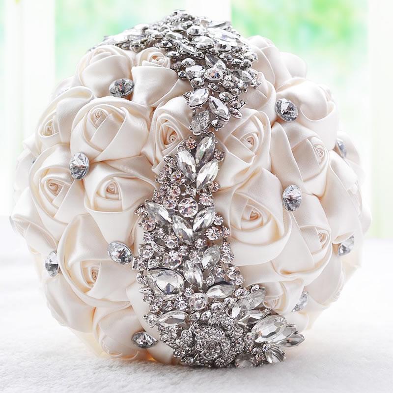 مدل دسته گل عروس مصنوعی و ایرانی 2018