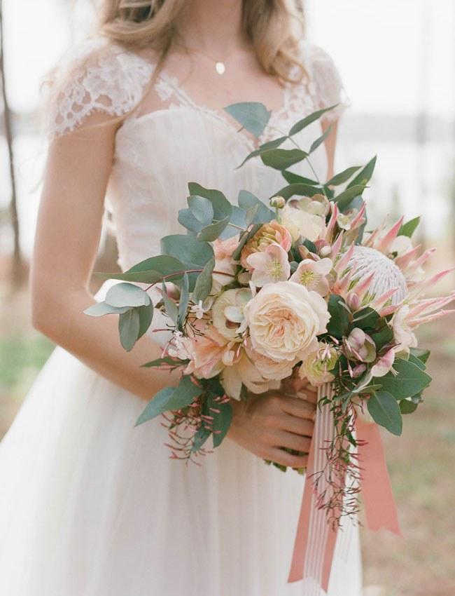 مدل دسته گل عروس ایرانی و شیک 2017