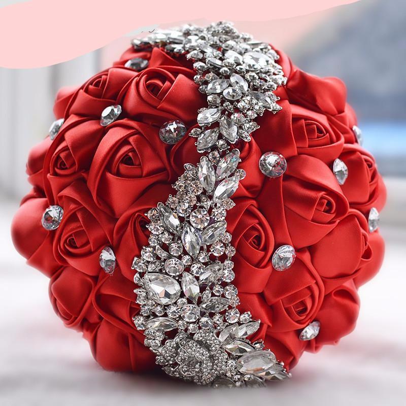 مدل دسته گل عروس مصنوعی ایرانی 2017