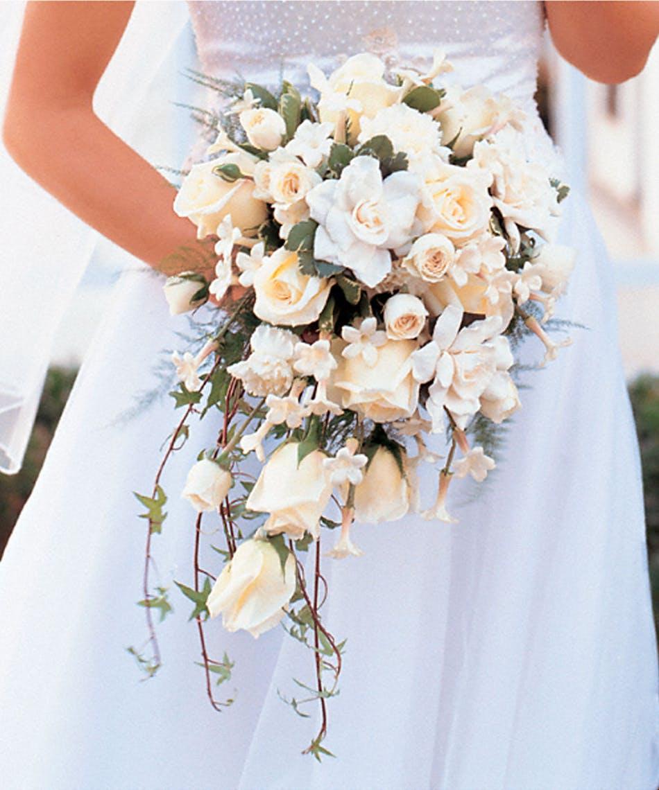 جدیدترین مدل دسته گل عروس آبشاری 2017
