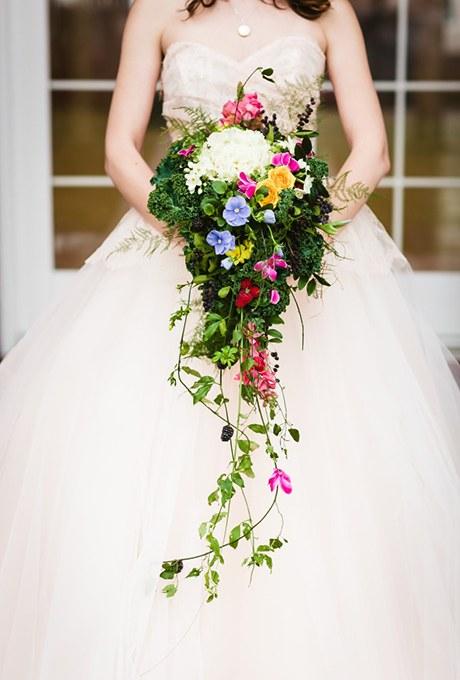 دسته گل عروس اروپایی مدل 2017