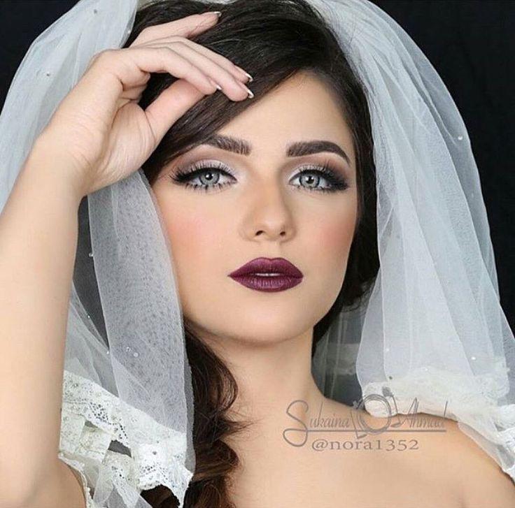 مدل مو و آرایش ساده عروس