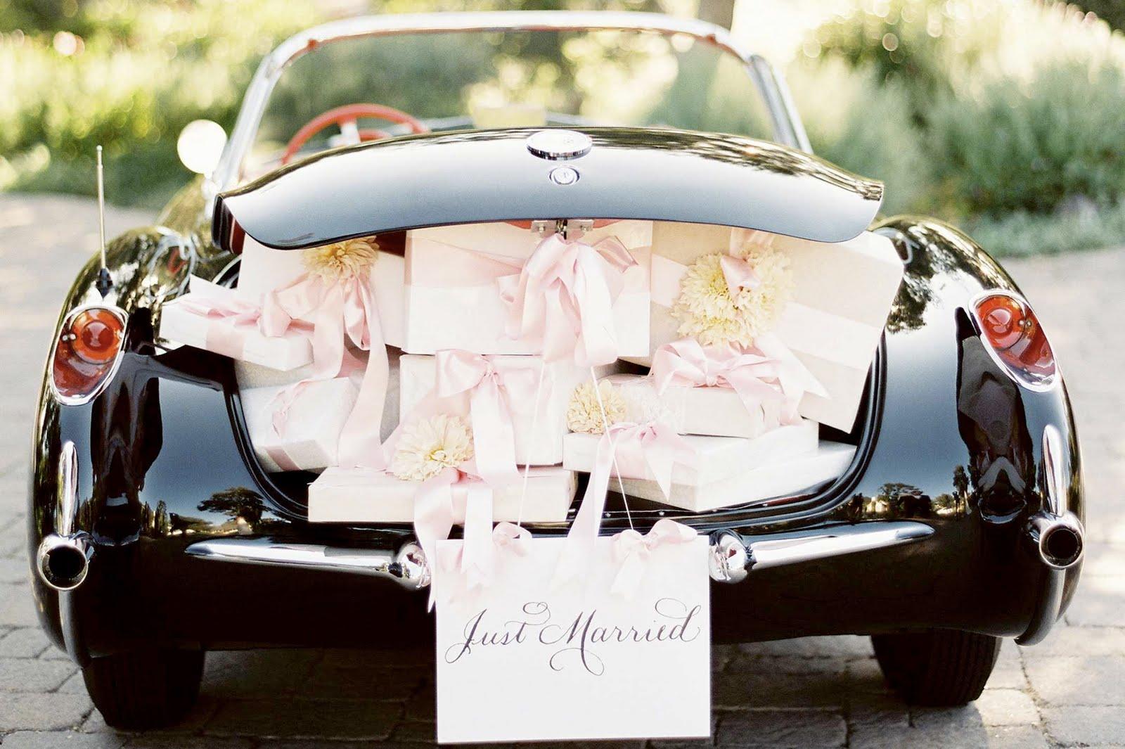 تزیین ماشین عروس اروپایی لوکس و شیک
