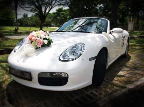 تزیین ماشین عروس جدید و شیک و ساده