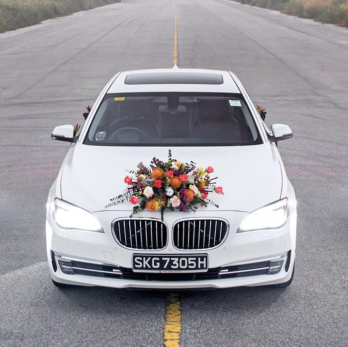 انواع مدل تزیین ماشین عروس شیک و بسیار زیبا