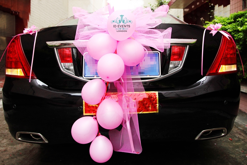 تزیین ماشین عروس روباز خوشگل برای عقد