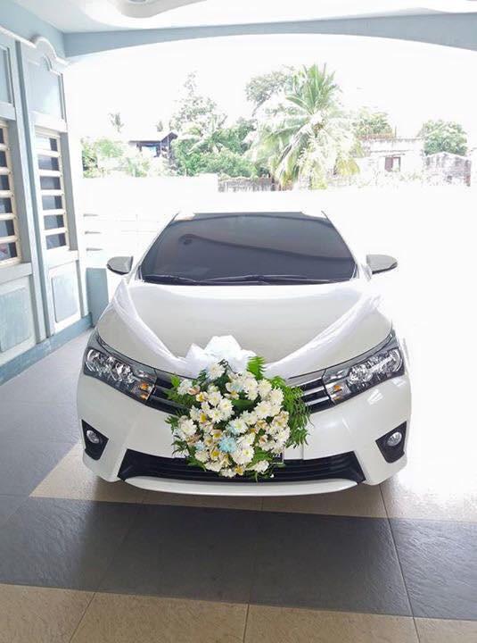انواع مدل تزیین ماشین عروس بسیار شیک و خوشگل