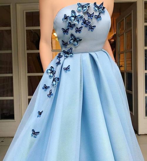 انواع مدل لباس فانتزی دخترانه گل گلی