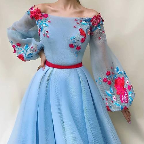 انواع مدل از زیباترین لباس مجلسی زنانه و دخترانه آستین دار حریر