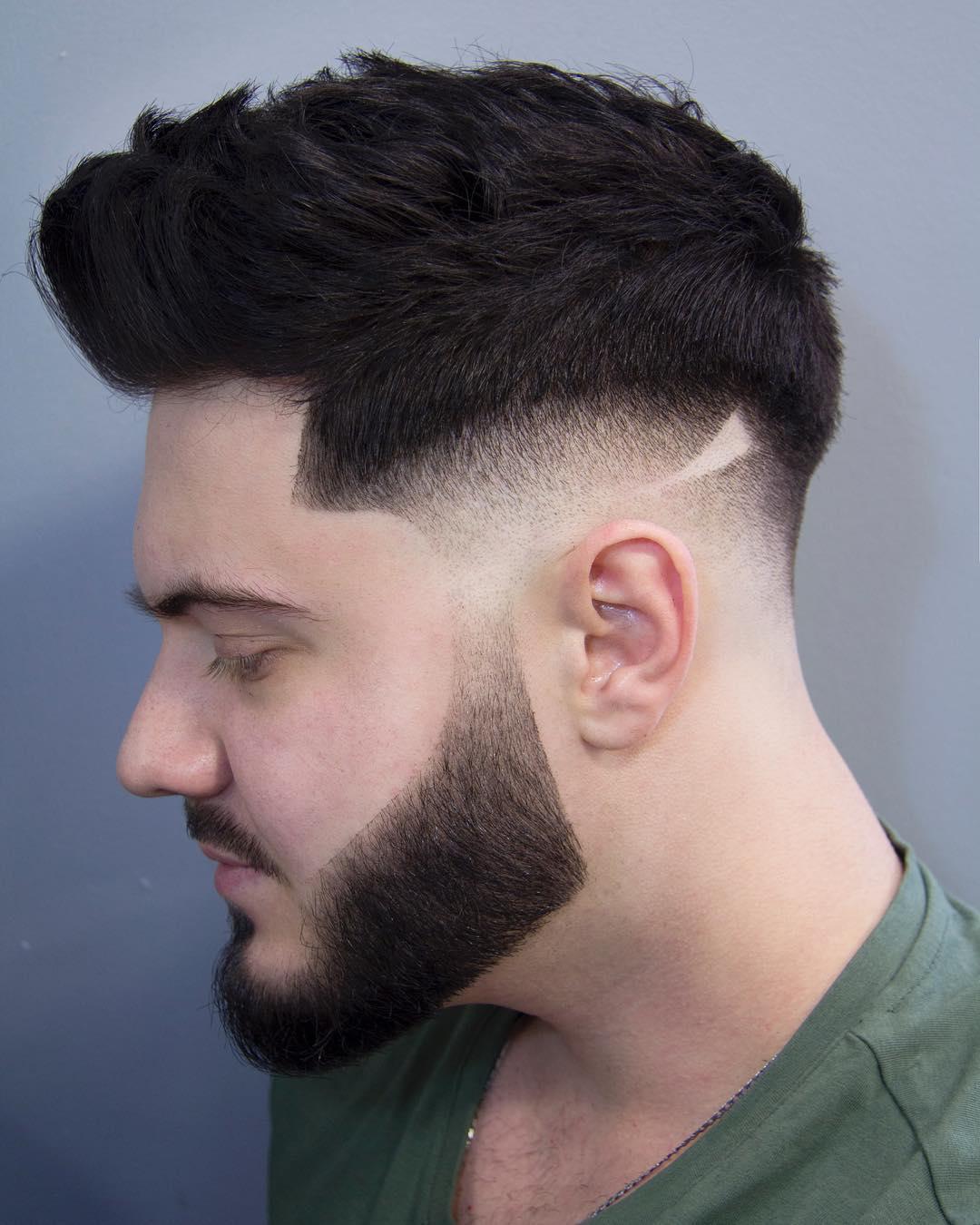 انواع مدل مو و ریش مردانه اسپرت و جدید 2018