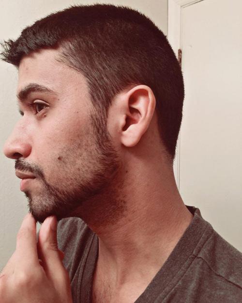 مدل ته ریش مردانه عربی و ایرانی ساده
