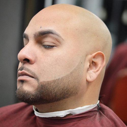 انواع مدل از ته ریش اقایان برای صورت کشیده و برای صورت گرد