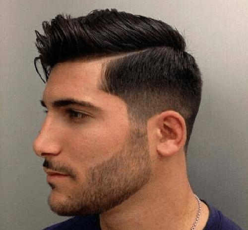 انواع مدل از ته ریش ساده مردانه