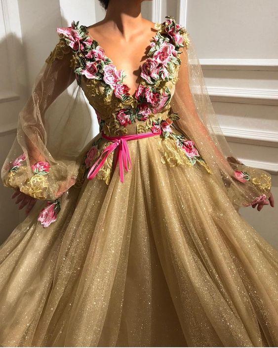 گل در لباس پرنسسی