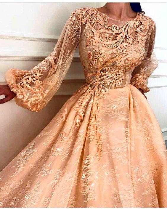 لباس گیپور بلند پرنسسی
