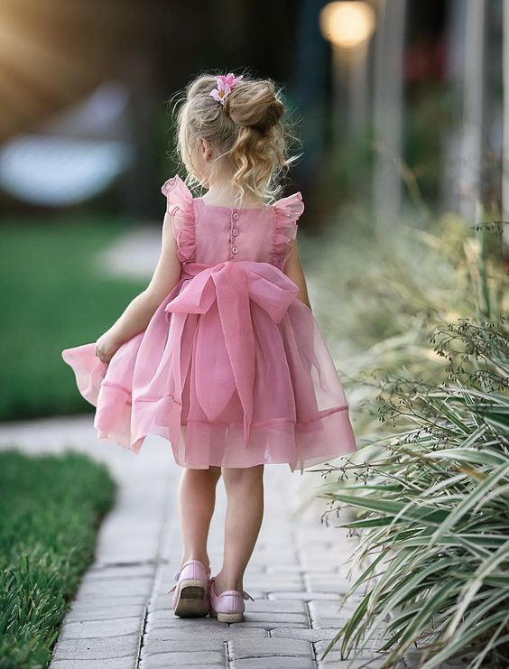 لباس مجلسی پرنسسی دخترانه