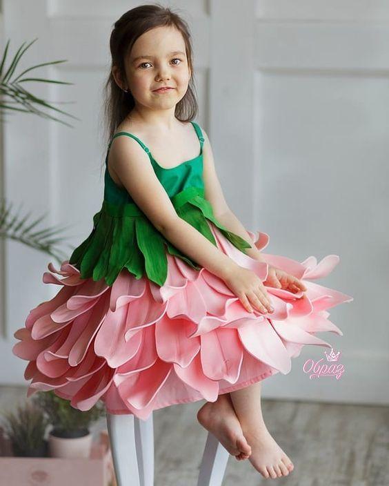 لباس مجلسی پرنسسی دختربچه