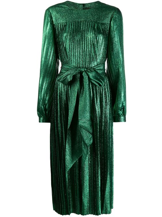 لباس مجلسی لمه شنی سبز رنگ