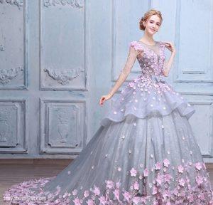 زیباترین مدل های لباس مجلسی پرنسسی