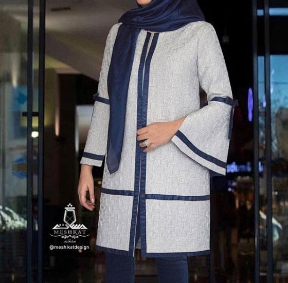 مدل لباس مانتو برای عید