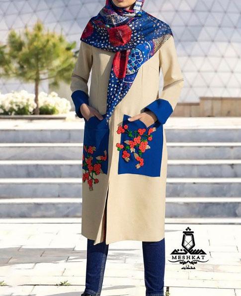 مدل مانتو کرپ برای عید
