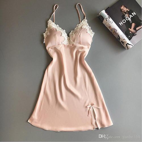 مدل لباس خواب توری