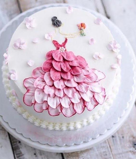 زیباترین کیک تولد دخترانه